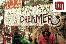 New Dream Act graffiti