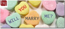 Will you marry me candies