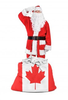 Santa is a Canadian Citizen?
