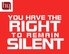 You have rights banner
